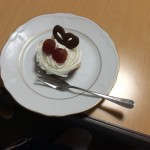 チョコムースケーキ(ロマンスを添えて)